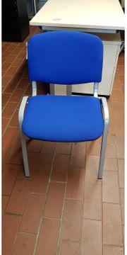 Besprechungsstuhl in Blau