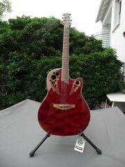 OVATION halbakustische Western-Gitarre