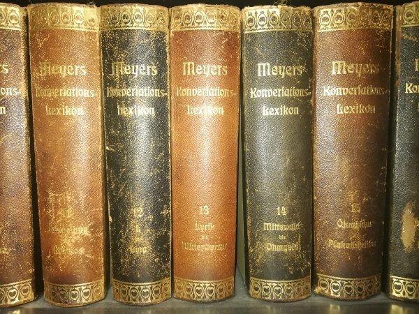 Meyers Konversations Lexikon kaufen Meyers Konversations