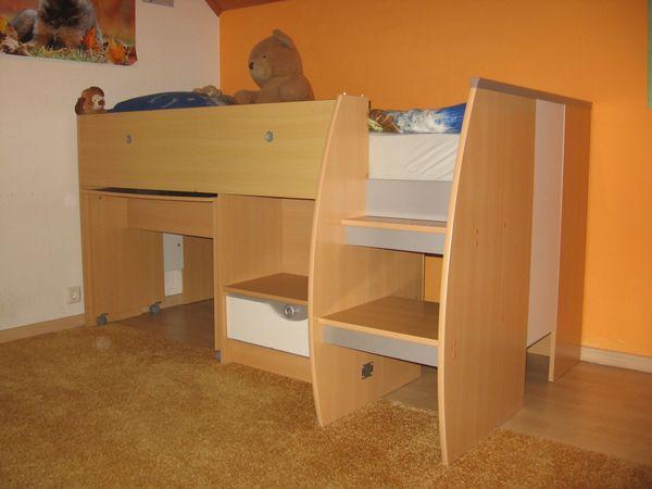 Kinder Hochbett, Gebraucht » Kinder /Jugendzimmer
