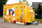 Verkaufsmobile Imbissanhänger Foodtruck Imbissanhänger