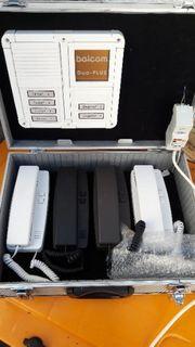 Klingelanlagen im Koffer