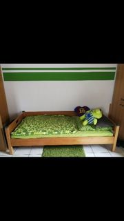 2 x Kinderbett Kinderzimmer Jugendbett