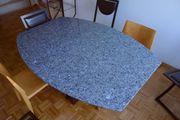 Esstisch mit Granitplatte,