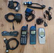 Verkaufe Handysammlung Siemens-Nokia-Samsung-Sony Ericsson W205