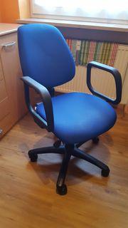 Löffler Bürostuhl blau