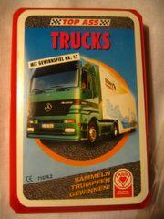 Kartenspiel Trucks, Lastwagen,