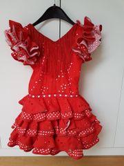 Bezauberndes Flamenco-Kleid