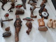 alte Holzfiguren
