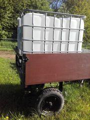 Wasser Wagen 1000 L