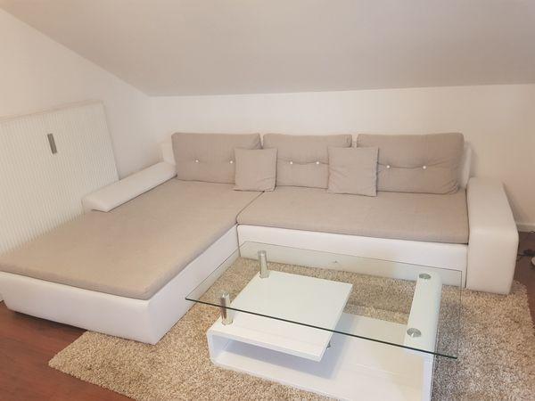 Wohnlandschaft Weiss Beige In Adlkofen Polster Sessel Couch