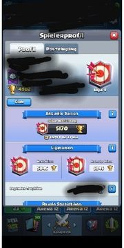 Verkaufe Clash Royal Account