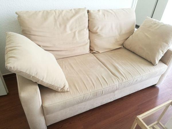 Gemütliches Sofa gemütliches sofa 2er beige in düsseldorf polster sessel