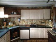 Einbauküche ohne Elektrogeräten