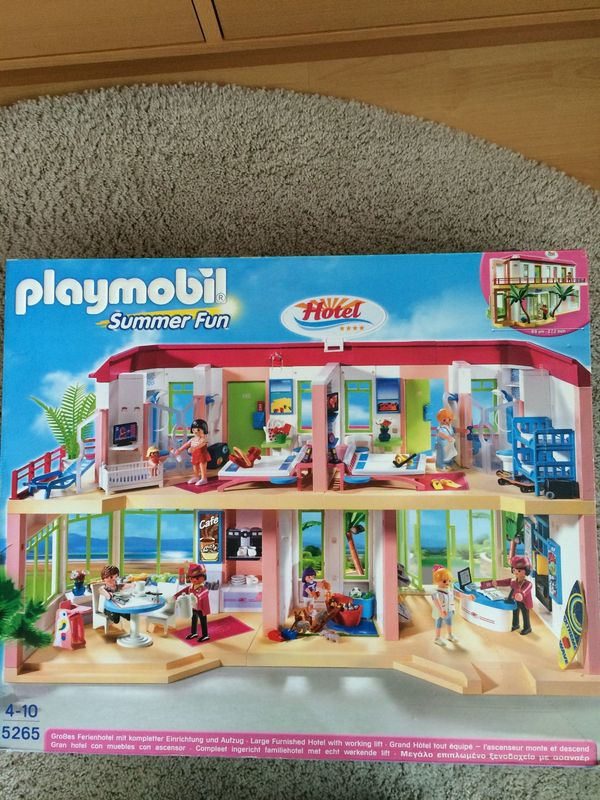 Playmobil Hotel Disco Hotelbus und