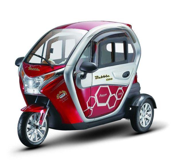 elektrofahrzeuge e-mobil elektroauto elektro L7e e-car e-auto ...