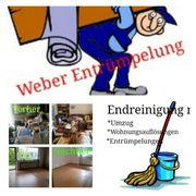 Weber Entrümpelung Haushaltsauflösung zum Festpreis