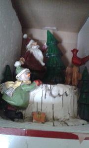 Eine SPIELUHR für die Weihnachtszeit
