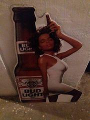 Bier Werbe Blechschild,