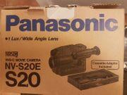 NEUE Panasonic VHS Videokamera Model