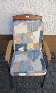 Gartenstühle mit 4 Auflagen