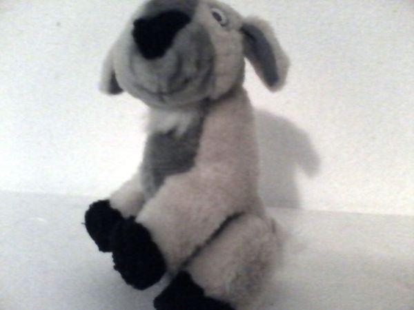 Stofftier / Plüschtier - Ziege - 17 cm - Adlkofen - Stofftier / Plüschtier - Ziege - 17 cm - Adlkofen