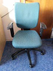 Scheibtisch-Stuhl von