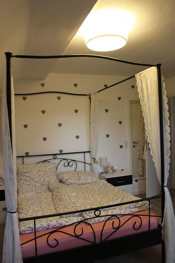 Himmelbett Jugendbett 140x200cm schwarz Metall inkl. Lattenrost gebraucht kaufen  74405 Gaildorf