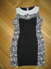 Ungetragenes schwarzes Kleid von H