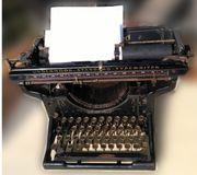 Underwood Schreibmaschine ca 1910 noch