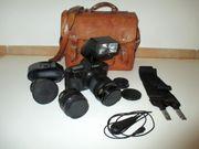 Canon EOS 620 mit Objektiven