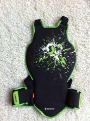 Scott-Rückenprotektor, Wirbelsäulenschutz