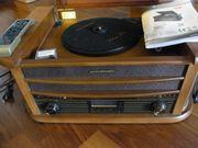 Stereoanlage,Plattenspieler, CD