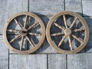 Puppenwagenräder aus Holz (