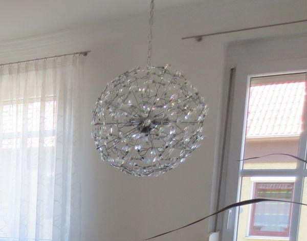 hochwertige deckenlampe rund kristall kugel pendelleuchte in stuttgart lampen kaufen und. Black Bedroom Furniture Sets. Home Design Ideas