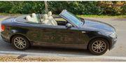 BMW 120 Cabrio schwarz