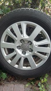 Original Audi Alufelgen (