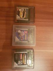 div GameBoy Color-Spiele auch einzeln
