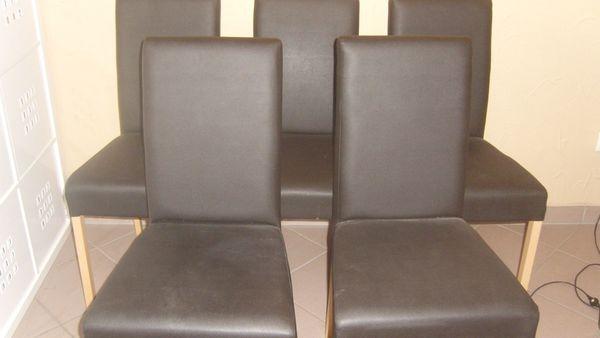 Stuhle Sessel Esszimmer Schwarz Anthrazit In Grossostheim
