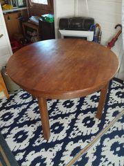 Ausziehbarer Tisch, ø110cm,