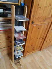 Musik CD mit Regal zum