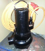 Abwasserpumpe Homa Typ TP70V15 4