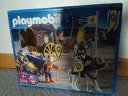 Playmobil 3314 Königsritter mit Schatztransport