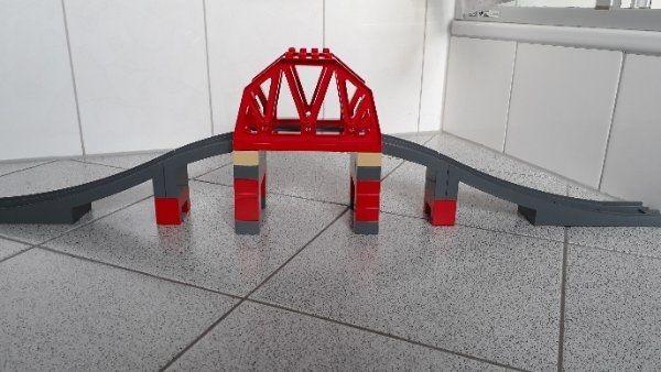 Lego Duplo 3774 - große Eisenbahnbrücke
