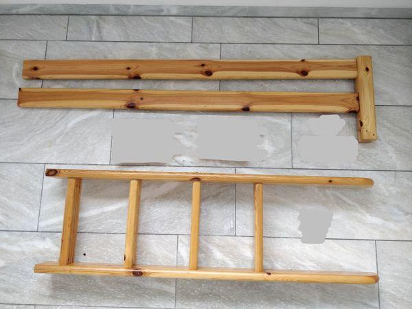 Flexa Etagenbett Leiter : Flexa leiter und absturzsicherung für etagenbett stockbett thuka