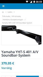 Yamaha Soundbar Anlage