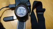 Uhr garmin fourrunner 410 brustgurt