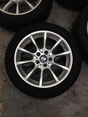 Neuwertige BMW 5er Alukompletträder 245-45