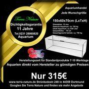 Aquarium - Handel 150x60x70cm 630 L
