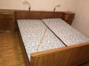 Schlafzimmer Bett Kasten Kommode